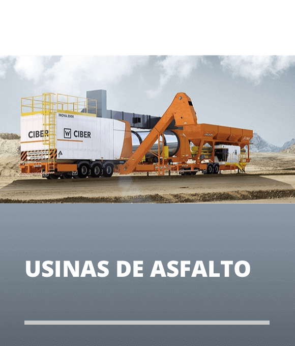 Usinas de Asfalto